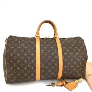 Auth Excellent Cond. Louis Vuitton Keepall 50